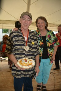 Fresh Fruit & or Cream 2nd place; Tim Pirce, Braham, Passion Fruit Pie